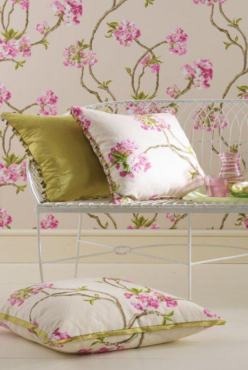 Buy Nina Campbell Sylvana Orchard Blossom Fabric Online