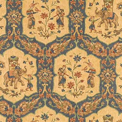 Thibaut Tamarind Tabriz Wallpaper Alexander Interiors
