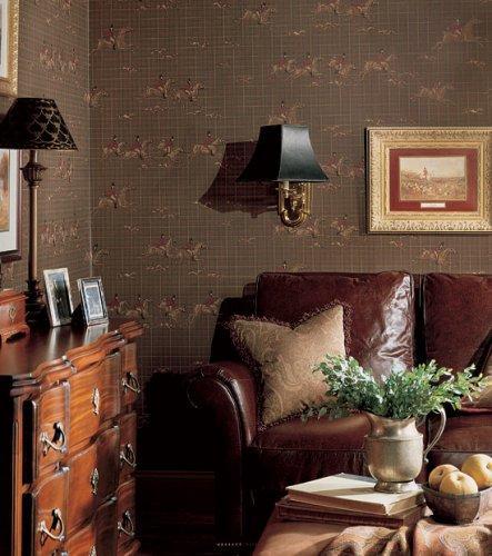 Thibaut repertoire tally ho wallpaper alexander interiors for Wallpaper home goods