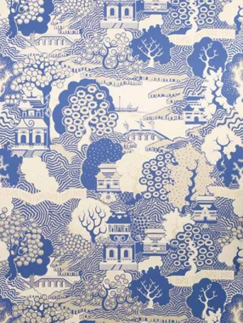 Osborne little summer palace wallpaper alexander for Oriental style wallpaper uk