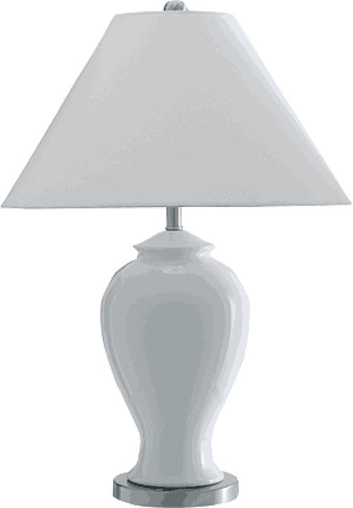 Buy White Ceramic Table Lamp Alexander Interiors Designer