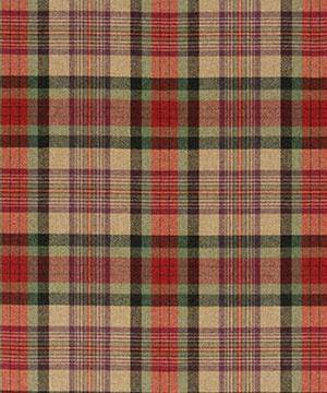 RALPH LAUREN DUNCANSON PLAID  FABRIC