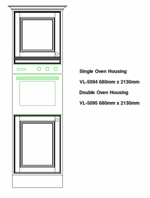 OVEN KITCHEN HOUSING