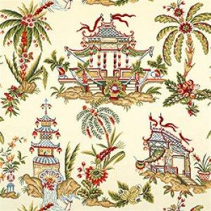 Thibaut Tea House Tea House Fabric Alexander Interiors
