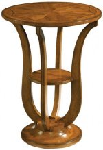 LYRE BASE ROUND TABLE