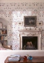 Lewis & Wood Chateau Wide Width Wallpaper