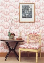 Lewis & Wood Chinese Toile Fabric