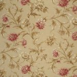 MULBERRY GILDED PEONY FABRIC