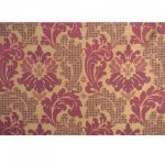 MULBERRY PATCHWORK DAMASK SILK FABRIC