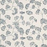 MULBERRY HOME MEADOW LINEN - SOFT BLUE  FABRIC
