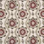MULBERRY OTTOLINE EMBROIDERY LINEN  FABRIC