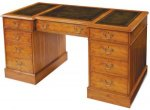 HANDMADE DOUBLE PEDESTAL DESK