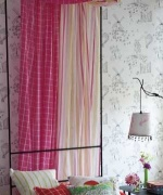 DESIGNERS GUILD KIDS SWEETPEA STRIPE FABRIC