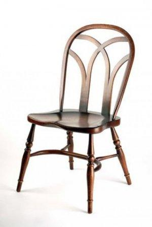 HANDMADE GOTHIC INTERLACE WINDSOR CHAIR