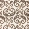Select Colour Code Variant: 5596 INDO IKAT - TAUPE AND CHOCOLATE ON LINEN