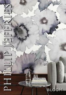 Philip Jeffries Bloom Wallpaper