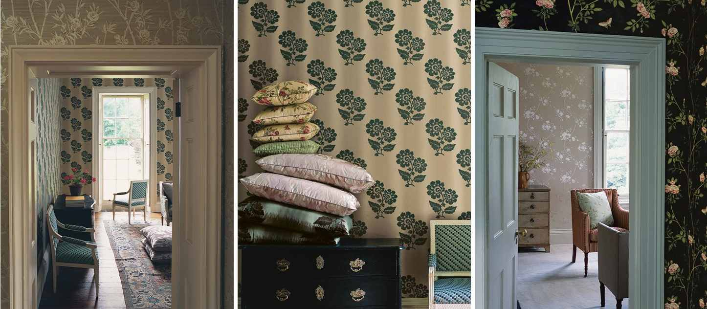 Buy Colefax And Fowler Wallpaper Alexander Interiorsdesigner Fabric