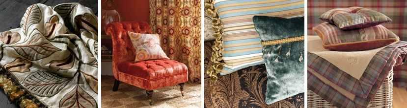 Mulberry Home Alexander Interiors,Designer Fabric, Wallpaper