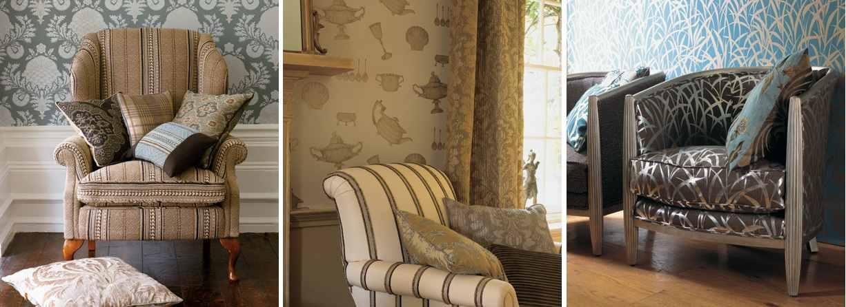 Mulberry Home Wallpaper Alexander Interiors,Designer Fabric