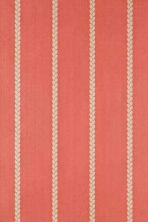FARROW AND BALL PETAL STRIPE BP 2410 WALLPAPER
