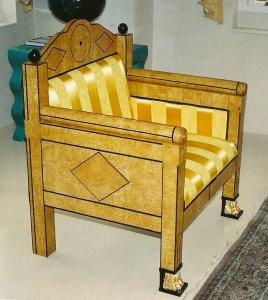 RUSSIAN EMPIRE CHAIR