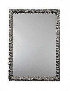 RECTANGLE SILVER FRAMED MIRROR