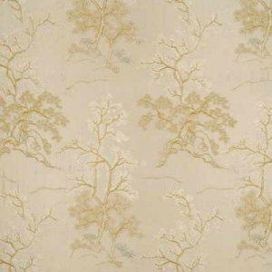 GP & J BAKER ORIENTAL TREE FABRIC