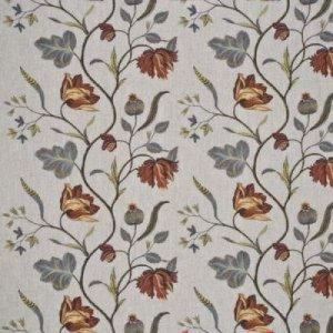 GP & J BAKER TULIP TREE LINEN FABRIC