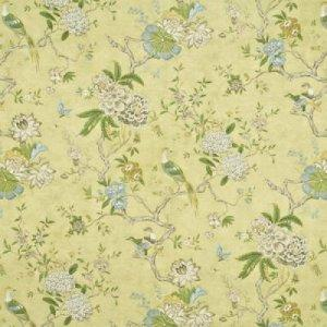 GP & J BAKER ORIENTAL BIRD COTTON FABRIC