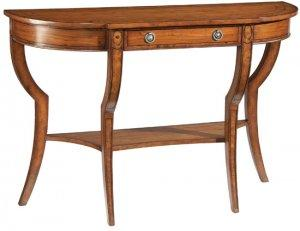 BREAKFRONT CONSOLE TABLE