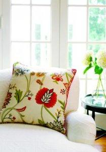 Thibaut Jubilee Cayman Embroidery Woven Fabric