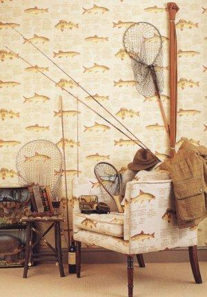 Lewis & Wood European Fish Wallpaper
