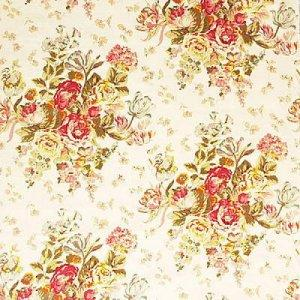 MULBERRY FLORAL BOUQUET    FABRIC