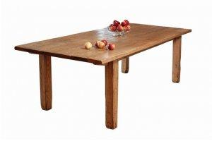 HANDMADE FRUIT WOOD MILL HOUSE TABLE