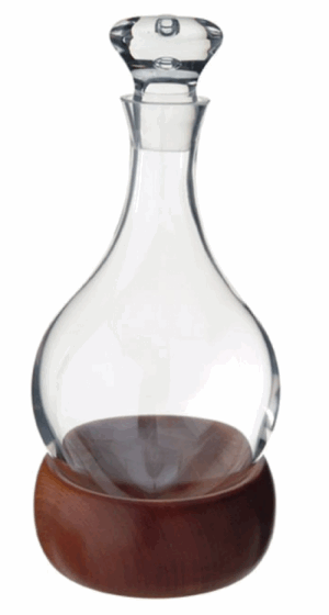 DARTINGTON CRYSTAL DECANTERS HOGGIT DECANTER