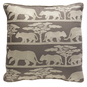 Pride Linen Taupe Cushion