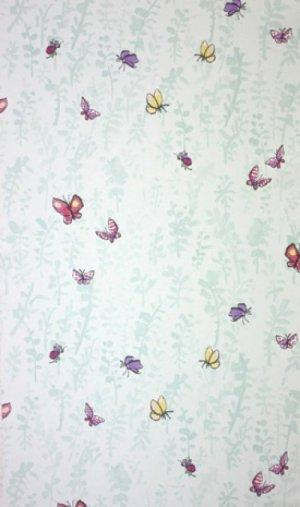 OSBORNE & LITTLE BUTTERFLY MEADOW WALLPAPER
