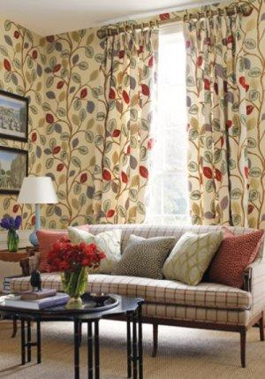 Thibaut Anniversary Oxfordshire Wallpaper