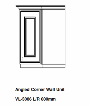 ANGLED KITCHEN WALL UNIT