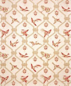 Bennison China Birds Fabric