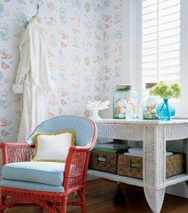 Thibaut Seaside Festiva Wallpaper