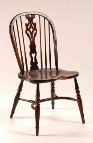 WINDSOR GEORGIAN SPLAT BACK CHAIR