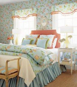 Thibaut Seaside Honeysuckle Fabric