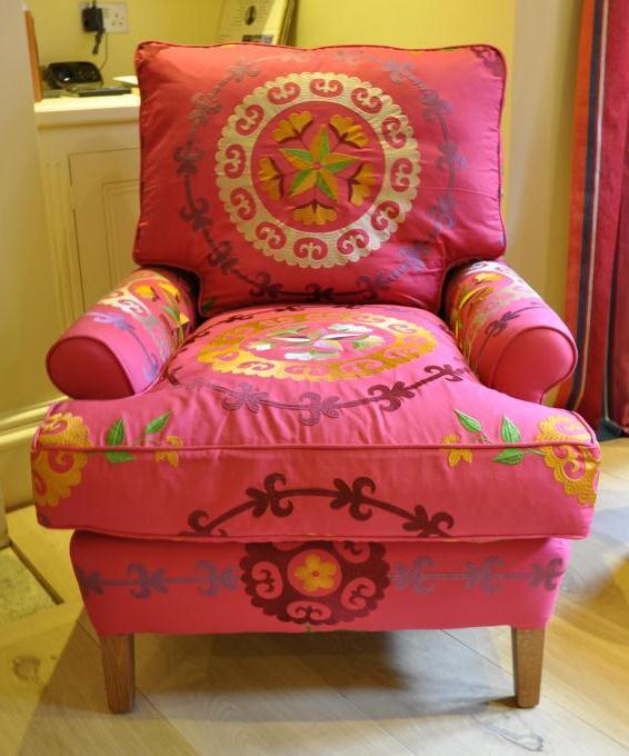 Handmade Lavenham handmade armchair Alexander Interiors ...