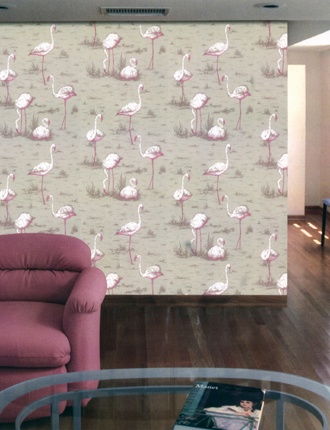 Buy Cole And Son Flamingos Wallpaper Alexander Interiors Designer
