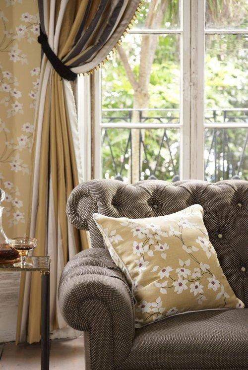 Buy Nina Campbell Montacute Malleny Fabric online ...