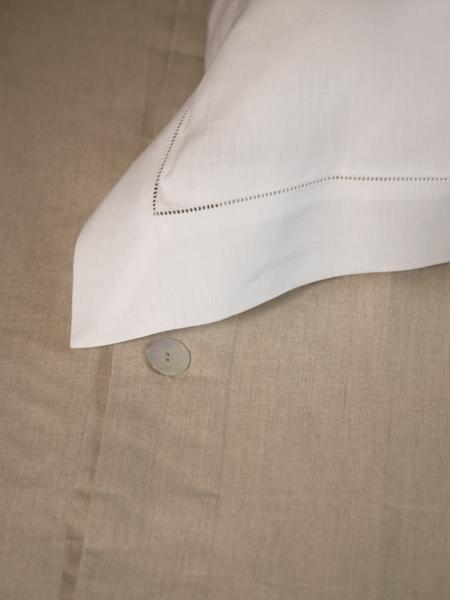 Libeco Classics Victoria Sham (European Pillow Case) - 100% Belgian Linen