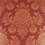 MULBERRY PALACE DAMASK EFFECTS WALLPAPER