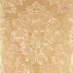 MULBERRY FRESCO DAMASK WALLPAPER