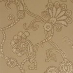MULBERRY MARQUISE DAMASK WALLPAPER